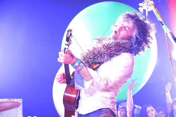 Wayne Coyne, The Flaming Lips, New Years Eve Freakout 5, Dec.31,2011. Oklahoma City, Oklahoma.