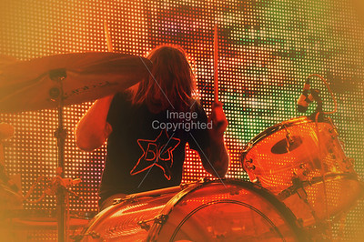 Kliph Scurlock, The Flaming Lips, New Years Eve Freakout 5, Dec. 31,2011. Oklahoma City, Oklahoma.