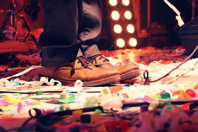 Wayne Coyne, The Flaming Lips, New Years Eve Freakout 5, Dec. 31,2011. Oklahoma City, Oklahoma.