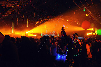 The Flaming Lips, Coca~Cola Brickton Events Center, OKC, Oklahoma. New Years Eve Freakout 5, Dec 31,2011.