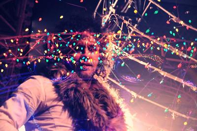 Wayne Coyne , The Flaming Lips, New Years Eve Freakout 5, Dec.31,2011, Oklahoma City