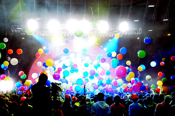 The Flaming Lips, New Years Freakout 2011.