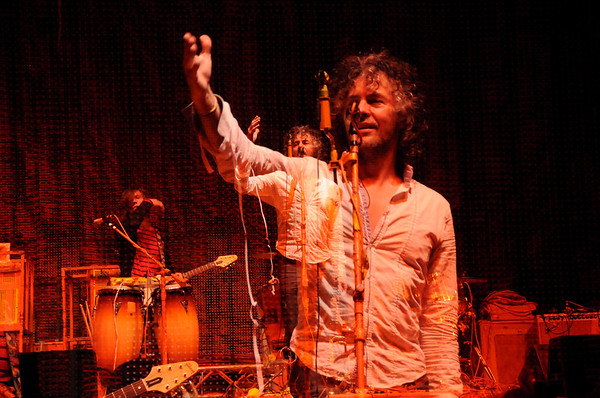 Wayne Coyne, The Flaming Lips, New Years Freakout 2011.