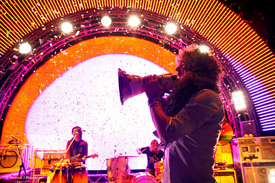 "The Flaming Lips Performing Pink Floyd's ""The Dark Side of the Moon"" Red Rocks Amphitheater Morrison, CO August 4, 2011"