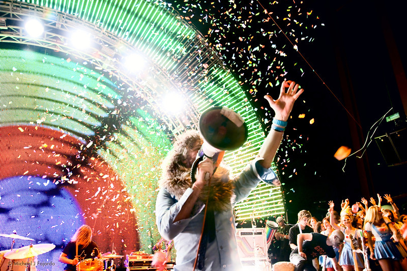 """The Flaming Lips Performing Pink Floyd's """"The Dark Side of the Moon"""" Red Rocks Amphitheater Morrison, CO August 4, 2011"""