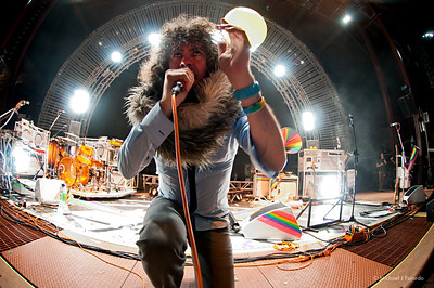 Wayne Coyne The Flaming Lips Red Rocks Amphitheater Morrison, CO August 4, 2011
