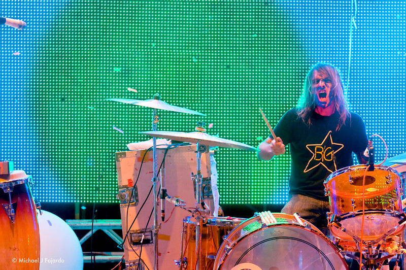 """Kliph Scurlock The Flaming Lips Performing Pink Floyd's """"The Dark Side of the Moon"""" Red Rocks Amphitheater Morrison, CO August 4, 2011"""
