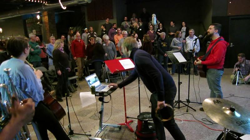 20180219 (2018) Flash Chorus 06 - Seamus thinking of doing a tambourine intro