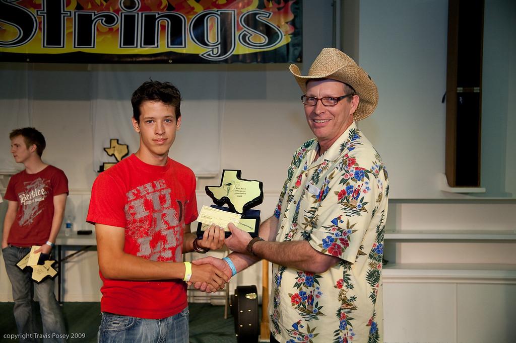 2nd Place, Josh Bailey, Texas
