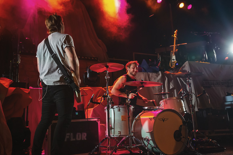 Flor opening for Andrew McMahon in the Wilderness Upside Down Flowers Tour at the Egyptian Room in the Old National Centre in Indianapolis, Indiana. Photo by Tony Vasquez for Entranced Media February 28, 2019.