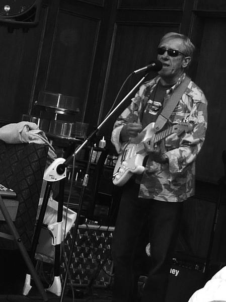 Steve at the 2010 Sweeps Festival,  American Standard Stratocaster