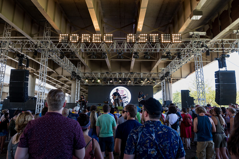 July 15, 2017 day two of Forecastle Festival in Louisville, KY. Shot by Tony Vasquez.