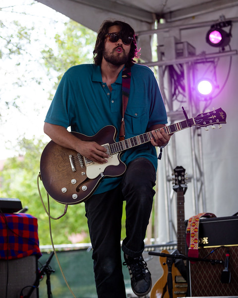 Bendigo Flecther on the WFPK Port Stage at Forecastle Festival 2019. Photo by Tony Vasquez