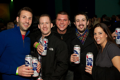 Brad, Brian, Cooper, Mic and Julie at the Madison Theater Saturday night to see Foxy Shazam
