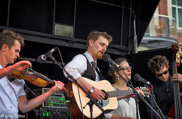 The Frank Burkitt Band at the Tennyson Street Fair, Wellington, 19 October 2014