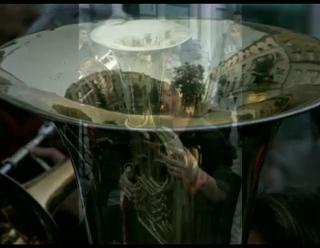 Magistrale 2007 Frauenblasorchester vor der Begine           Video erstellt von Christel Kuke