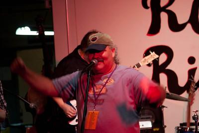 Joe Gee, veteran Fredhead, singer-songwriter and master of ceremonies.