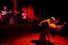 Yismari Ramos Tellez dancing with Freddy Clarke & Wobbly World at YOSHI's - San Francisco