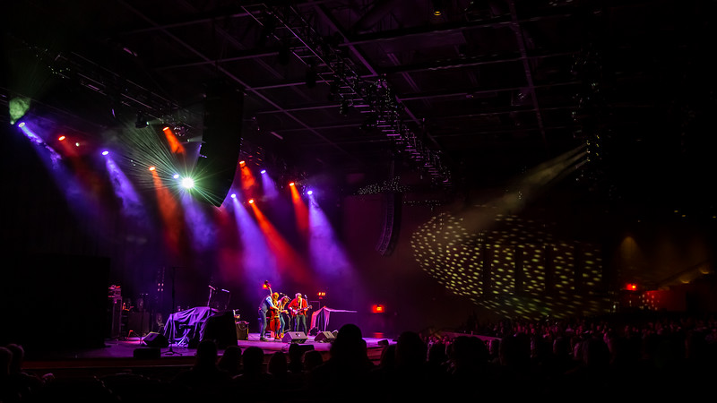Fredy & Francine opening for JJ Grey & Mofro at the Brown County Music Center on February 5, 2020. Photo by Tony Vasquez for Jams Plus Media.