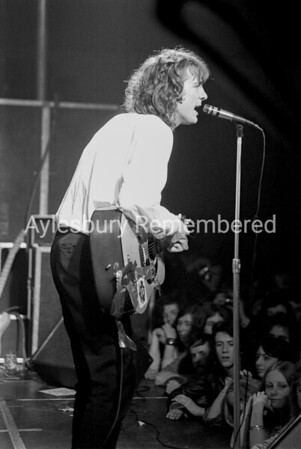 John Otway at Civic Centre, Dec 6th 1977