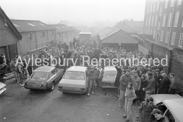Queue for Howard Jones Friars tickets, Feb 24th 1984