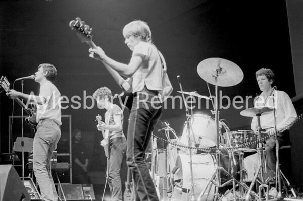 Talking Heads at Civic Centre, Jan 24th 1978