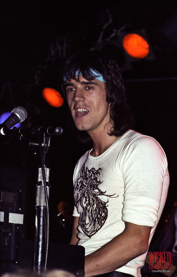 Woody Wood at the Roxy - August 1981