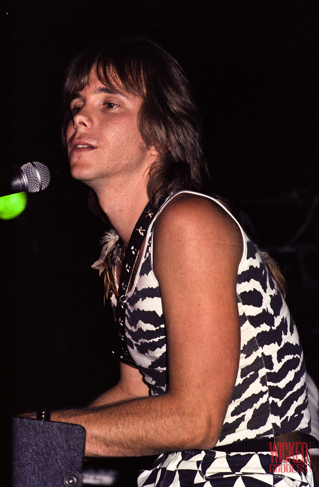 Duncan Faure at the Roxy - August, 1981