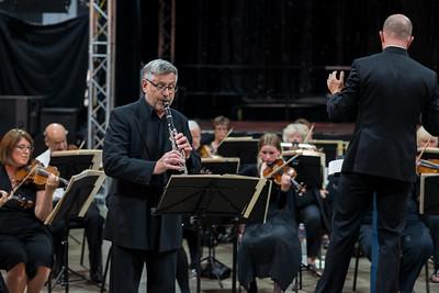 David Pagett, Mozart Clarinet Concerto