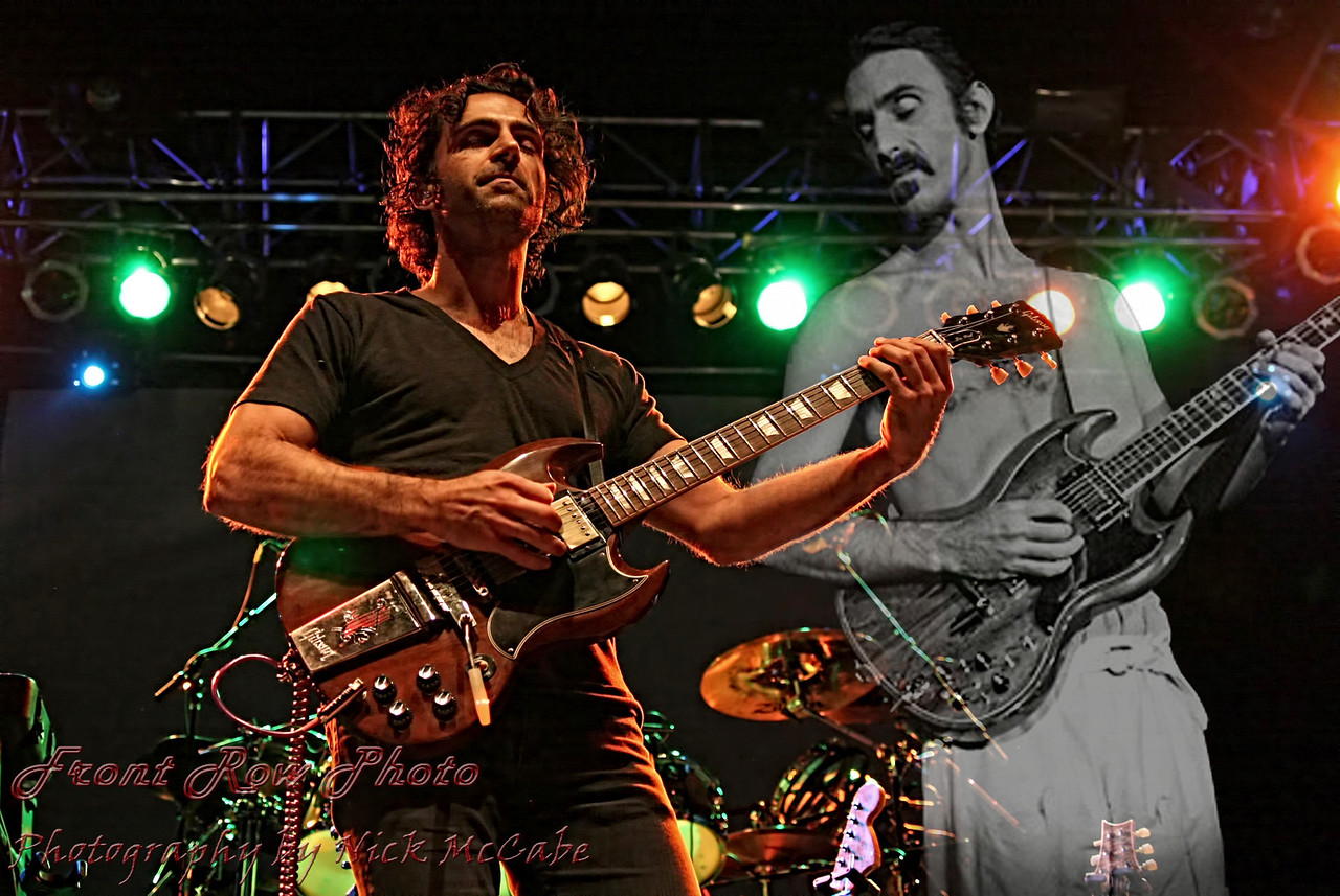Dweezil and Frank<br /> Frank courtesy of Hulst Photography