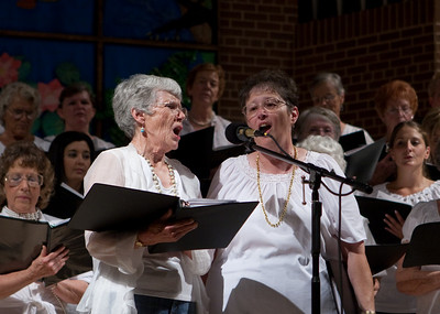 "Sybil and Norine singing ""This Land is Your Land"""