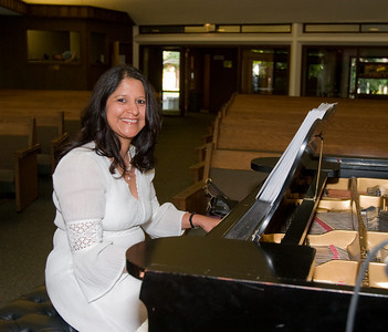Marlene Fernandez is our accompanist.
