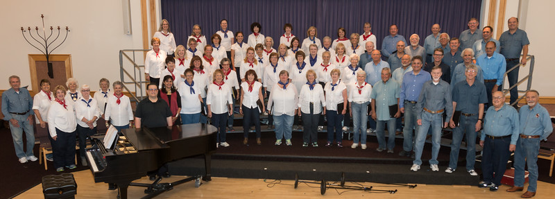 The Fun Times Singers, in concert.