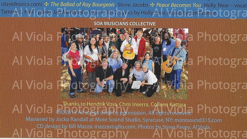 Fundraiser CD for SOA Watch 2013