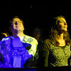 Furthur fans Jeremy Grossbard, left, and Allison Dunn, listen to the opening night concert of the 1stBank Center on Friday.<br /> <br /> March 5, 2010<br /> Staff photo/David R. Jennings
