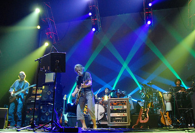 Furthur with Phil Lesh and Bob Weir playing at  the opening night at the 1stBank Center on Friday.  March 5, 2010 Staff photo/David R. Jennings