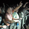 Front row fans listen and move to the music of Furthur with Phil Lesh and Bob Weir playing at  the opening night of the 1stBank Center on Friday.<br /> <br /> March 5, 2010<br /> Staff photo/David R. Jennings