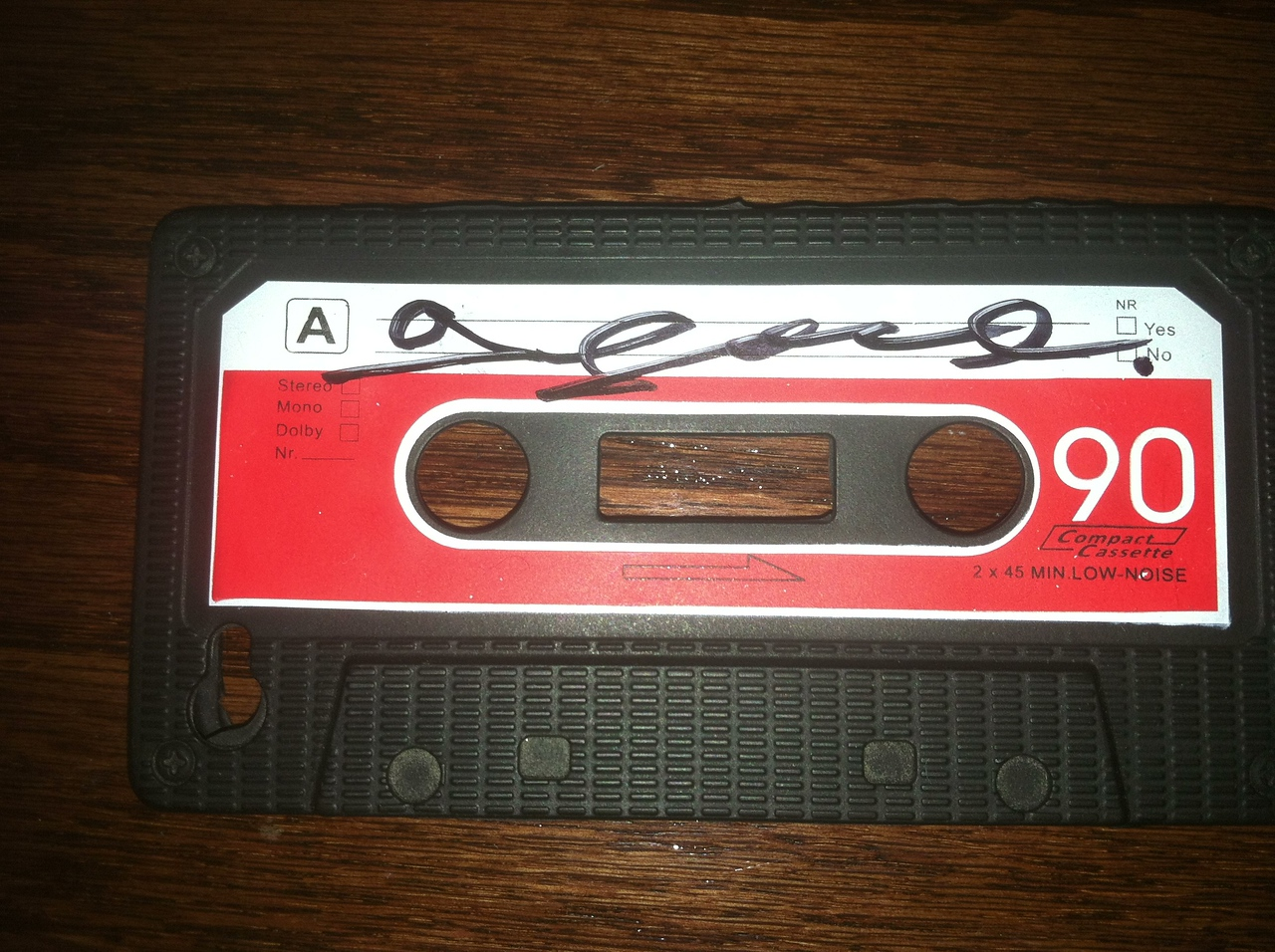 G Love autograph on my iPhone case!