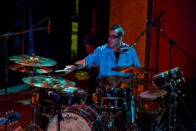 Jeffrey Clemens on drums