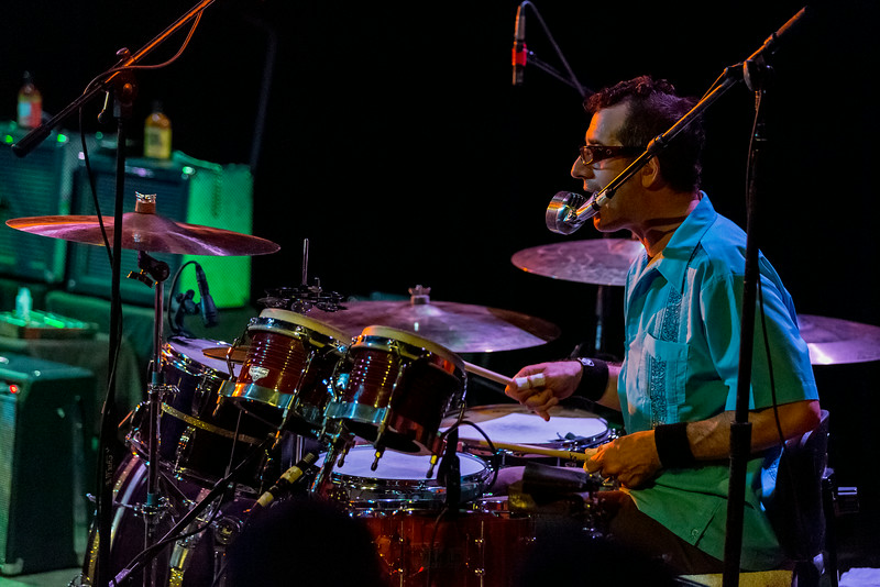 Jeffrey Clemens on drums