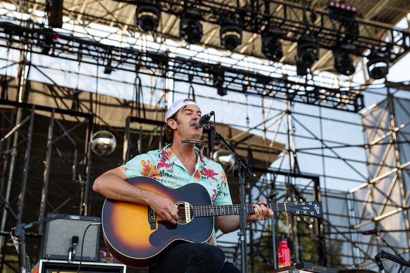 G Love at the Farm Bureau Insurance Lawn at White River State Park. Photo by Tony Vasquez.