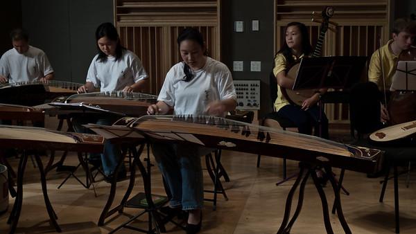 Chinese Music Ensemble, Fraser Recording Studio, TedxBoston