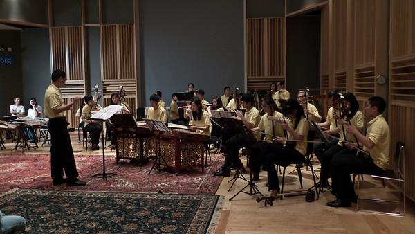 Chinese Music Ensemble, Fraser Recording Studio, TedxBoston