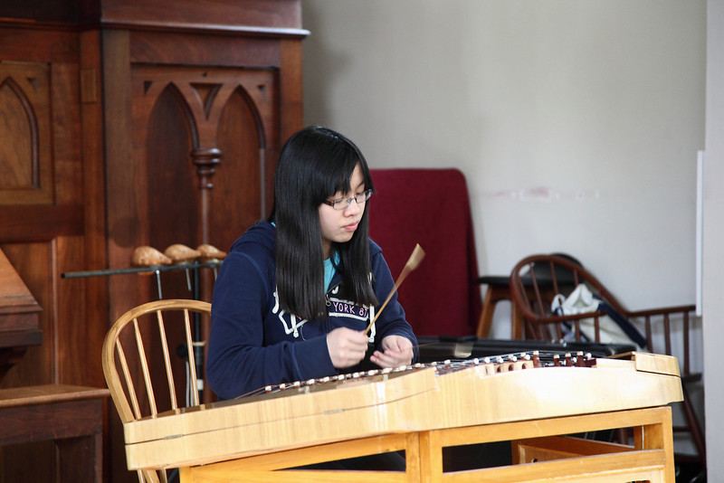 Hannah To, yangqin (揚琴:杜曉琳) Photo by Chi-Sun Chan