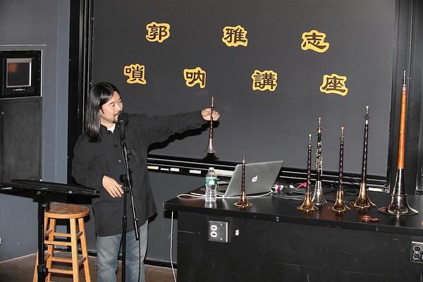 Introducing suona 2012-12-01 YaZhi Guo Suona Seminar Photo by Hui Zhu
