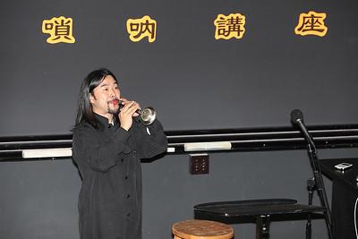 2012-12-01 YaZhi Guo Suona Seminar Photo by Hui Zhu