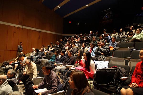 The audiences 2012-12-01 YaZhi Guo Suona Seminar