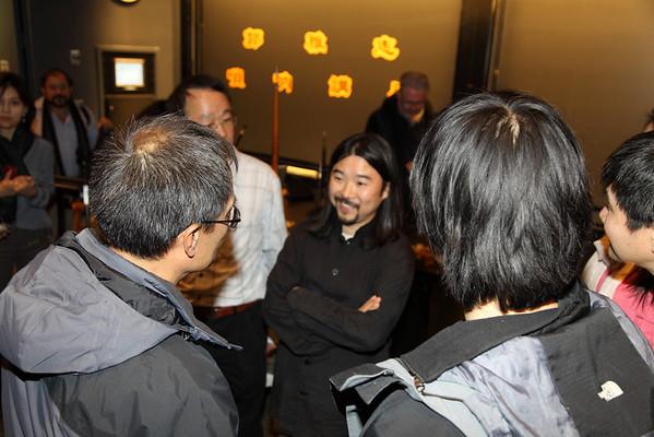 Talking with audience after seminar 2012-12-01 YaZhi Guo Suona Seminar