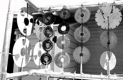 metalophone rack detail
