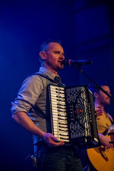 Gaelic Storm February 18, 2016 at the Vogue in Indianapolis, IN.